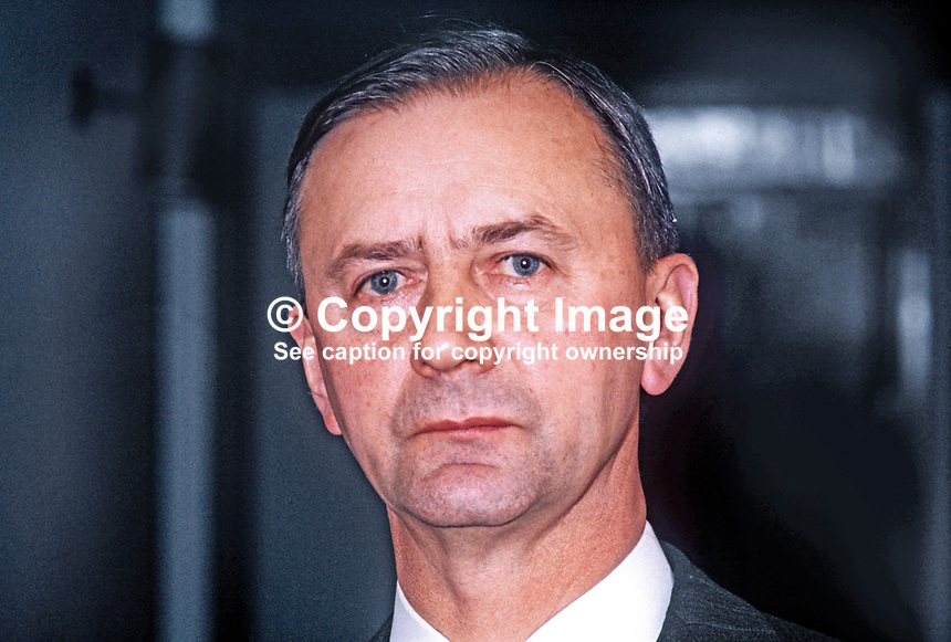 Howard Smith, representive in N Ireland for UK Government. 197104000210a<br /> <br /> Copyright Image from Victor Patterson, 54 Dorchester Park, Belfast, UK, BT9 6RJ<br /> <br /> t1: +44 28 9066 1296<br /> t2: +44 28 9002 2446<br /> m: +44 7802 353836<br /> <br /> e1: victorpatterson@me.com<br /> e2: victorpatterson@gmail.com<br /> <br /> www.victorpatterson.com<br /> <br /> IMPORTANT: Please see my Terms and Conditions of Use at www.victorpatterson.com