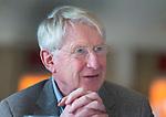 TILBURG - voorzitter Peter Dirven  van de Oosterhoutse. Ronde tafelgesprek,  voorzitters/baanmanagers met het thema: horeca in huis of uitbesteden? Voor NGF Golfmarkt. COPYRIGHT KOEN SUYK