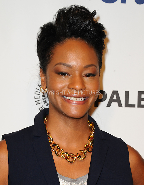 WWW.ACEPIXS.COM<br /> <br /> March 27 2014, LA<br /> <br /> Actress Sufe Bradshaw arrives at the 2014 PaleyFest - 'VEEP' event at The Dolby Theatre on March 27, 2014 in Hollywood, California.<br /> <br /> By Line: Peter West/ACE Pictures<br /> <br /> <br /> ACE Pictures, Inc.<br /> tel: 646 769 0430<br /> Email: info@acepixs.com<br /> www.acepixs.com