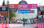 Mikel Landa (ESP) Team Sky wins Stage 19 of the 100th edition of the Giro d'Italia 2017, running 191km from San Candido/Innichen to Piancavallo, Italy. 26th May 2017.<br /> Picture: LaPresse/Simone Spada   Cyclefile<br /> <br /> <br /> All photos usage must carry mandatory copyright credit (&copy; Cyclefile   LaPresse/Simone Spada)