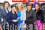 Paula Hannon, Emer Hannon, Mags Healy, Mary Horgan, Listowel and Maria Sheehan, Brosna pictured at Listowel races on Sunday.