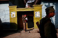 Srinagar curfew by Fredrik Naumann