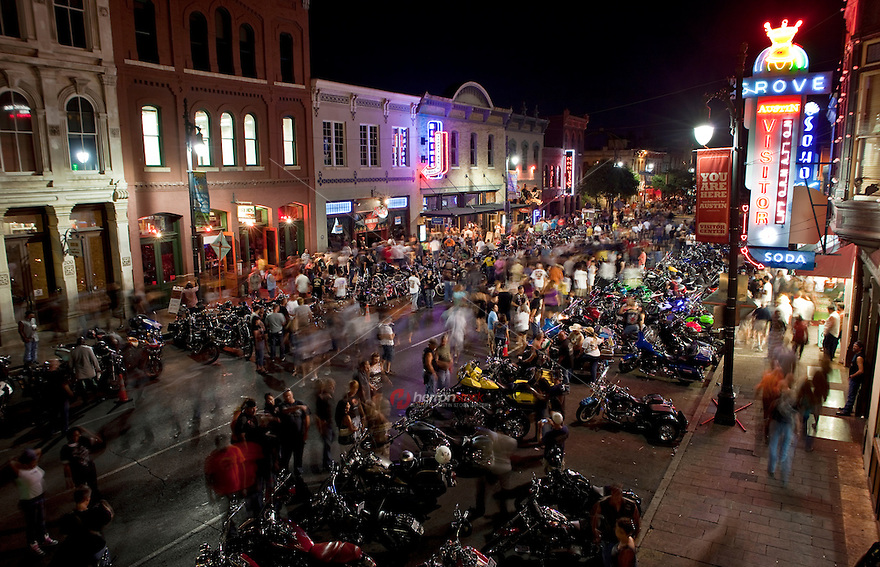 The Republic of Texas Biker Rally (ROT Biker Rally) is the biggest motorcycle rally in Texas and one of largest motorcycle events in the U.S.  Enthusiasts come enjoy the amazing motorcycles, the Austin nightlife and of course the beautiful Texas women.