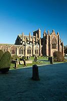 Melrose Abbey, Melrose, Scottish Borders