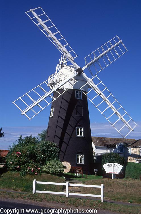 AMHKB3 Stow Hill windmill Mundesley Norfolk England