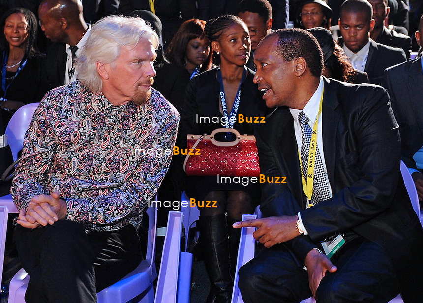 Qunu, South Africa: 15.12.2013: STATE FUNERAL FOR NELSON MANDELA<br /> RICHARD BRANSON<br /> attends the burial ceremony for former President Nelson Mandela in Qunu, Eastern Cape, South Africa