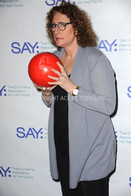 WWW.ACEPIXS.COM<br /> January 12, 2015 New York City<br /> <br /> Judy Gold attending the Third Annual Paul Rudd All-Star Bowling Benefit for The Stuttering Association for the Young (SAY) at Lucky Strike Lanes &amp; Lounge on January 12, 2015 in New York City.<br /> <br /> Please byline: Kristin Callahan/AcePictures<br /> <br /> ACEPIXS.COM<br /> <br /> Tel: (212) 243 8787 or (646) 769 0430<br /> e-mail: info@acepixs.com<br /> web: http://www.acepixs.com
