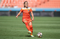 Houston, TX - Saturday May 13, Houston Dash midfielder Andressa Cavalari Machry (17) during a regular season National Women's Soccer League (NWSL) match between the Houston Dash and Sky Blue FC at BBVA Compass Stadium. Sky Blue won the game 3-1.