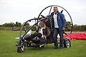 01/07/15<br /> <br /> Injured veteran David Chambers in the Fresh Breeze XCitor para-trike with Neil Laughton. <br />  <br /> <br /> *** FULL STORY HERE: <br /> http://www.fstoppress.com/articles/flying-for-heroes/  ***<br /> <br /> A special aircraft adapted to be flown by wounded, injured and sick servicemen took to the skies for the first time above Britain today.<br /> <br /> The two-seater para-trike is one of three similar aircraft operated by Flying For Heroes that are currently based at Darley Moor Airfield, Ashbourne, Derbyshire.<br /> <br /> Ten wounded servicemen took to the controls of this, and many other aircraft, during a two-day flying training camp hosted by Airways Airsports.<br /> <br /> *** FULL STORY HERE:  http://www.fstoppress.com/articles/flying-for-heroes/  ***<br /> <br /> All Rights Reserved: F Stop Press Ltd. +44(0)1335 418629   www.fstoppress.com.