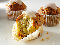 Lemon muffin food photos
