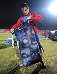 FUDBAL, JOHANEZBURG, 20. Jun. 2010. - Zoran Tosic. Vecernji trening reprezentacije Srbije na Rand stadionu pred mec sa Australijom. Foto: Nenad Negovanovic