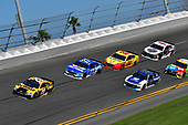 Monster Energy NASCAR Cup Series<br /> Daytona 500<br /> Daytona International Speedway, Daytona Beach, FL USA<br /> Sunday 18 February 2018<br /> Erik Jones, Joe Gibbs Racing, DEWALT Toyota Camry, Ricky Stenhouse Jr., Roush Fenway Racing, Fastenal Ford Fusion, Alex Bowman, Hendrick Motorsports, Nationwide Chevrolet Camaro, Joey Logano, Team Penske, Shell Pennzoil Ford Fusion<br /> World Copyright: Logan Whitton<br /> LAT Images