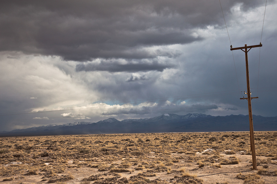 Dramatic Sky - Panamint Range - Across Death Valley NP, CA/NV