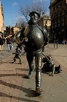 Desperate Dan statue, Dundee<br /> <br /> Copyright www.scottishhorizons.co.uk/Keith Fergus 2011 All Rights Reserved