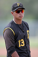 August 15, 2008: Carlos Silva (13) of the GCL Pirates. Photo by: Chris Proctor/Four Seam Images