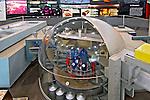 Sala informativa. Usina Nuclear Angra 2. Angra dos Reis. Rio de Janeiro. 2007. Foto de Luciana Whitaker.