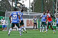 SAO PAULO, 13 DE MARÇO, 2013  - TREINO S.E. PALMEIRAS - Jogadores do Palmeiras durante treino de concentração na tarde desta quarta-feira(13), na Academia de Futebol, Barra Funda, zona oeste da capital.  A equipe se prepara para o jogo desta quinat(14)  Palmeiras x Paulista, no Estádio do Pacaembu, pela 10ª rodada do Campeonato Paulista -  FOTO: LOLA OLIVEIRA - BRAZIL PHOTO PRESS