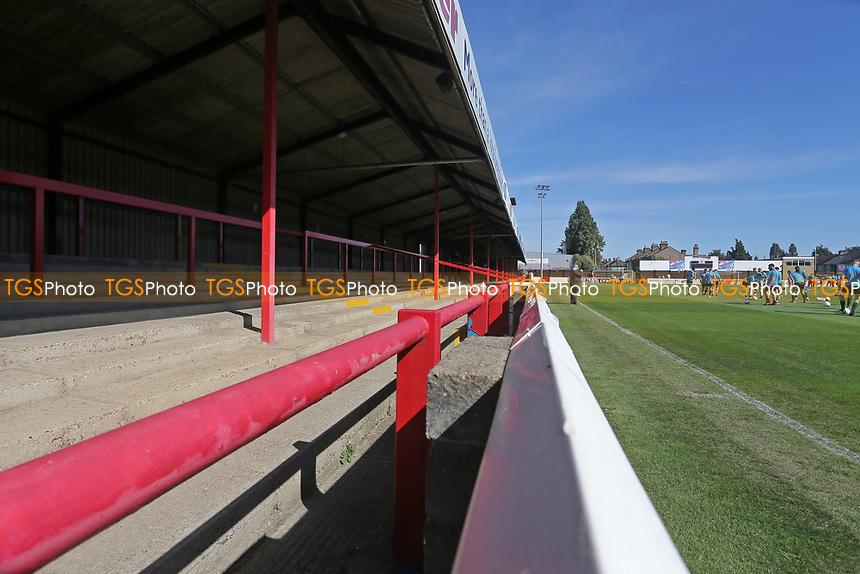 General view of the ground during Dagenham & Redbridge vs Hartlepool United, Vanarama National League Football at the Chigwell Construction Stadium on 14th September 2019