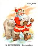 GIORDANO, CHRISTMAS SANTA, SNOWMAN, WEIHNACHTSMÄNNER, SCHNEEMÄNNER, PAPÁ NOEL, MUÑECOS DE NIEVE, paintings+++++,USGI2128,#X#