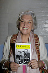 """Tony nominated actress on Broadway and starred in Soap Operas -  Tyne Daly (General Hospital) nominated for a Tony for actress in a play """"Mothers and Sons"""" at the John Golden Theatre, New York City, New York. (Photo by Sue Coflin/Max Photos)"""