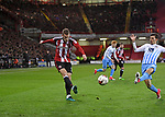 Paul Coutts of Sheffield Utd during the English League One match at Bramall Lane Stadium, Sheffield. Picture date: April 5th 2017. Pic credit should read: Andy Jones/Sportimage