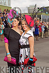 Sinead O'Sullivan Killorglin and Mary Stapleton Tralee pictured at Killarney Races Ladies day on Thursday.