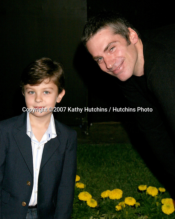"Will Shadley & Glenn Fitzgerald.""Dirty Sexy Money"" Premiere Party.Paramount Studios Theater.Los Angeles,  CA.September 23, 2007.©2007 Kathy Hutchins / Hutchins Photo...               ."