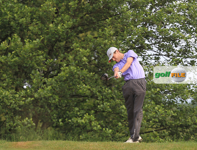 Darragh Conlon (Athenry) on the 12th tee during Round 3 of the 2016 Connacht Strokeplay Championship at Athlone Golf Club on Sunday 12th June 2016.<br /> Picture:  Golffile | Thos Caffrey
