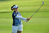 PATTAYA, THAILAND - FEBRUARY 22: Moriya Jutanugarn of Thailand 2nd shot on the 2nd fairway during the second round of the Honda LPGA Thailand 2019 at Siam Country Club Pattaya (Old Course), Pattaya, Thailand on February 22, 2019.<br /> .<br /> .<br /> .<br /> (Photo by: Naratip Golf Srisupab/SEALs Sports Images)<br /> .<br /> Any image use must include a mandatory credit line adjacent to the content which should read: Naratip Golf Srisupab/SEALs Sports Images