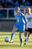 North Carolina Tar Heels forward Brittani Bartok (6). North Carolina Tar Heels The North Carolina Tar Heels defeated the Notre Dame Fighting Irish 2-1 during the finals of the NCAA Women's College Cup at Wakemed Soccer Park in Cary, NC, on December 7, 2008. Photo by Howard C. Smith/isiphotos.com