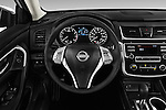Car pictures of steering wheel view of a 2016 Nissan Altima S 4 Door Sedan Steering Wheel