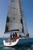 ESP 9383 MUCH &amp; MORE Jos&eacute; Fabre X-YACHTS 55 Independiente<br /> Salida de la 22 Ruta de la Sal 2009 Versi&oacute;n Este, Denia, Alicante, Espa&ntilde;a