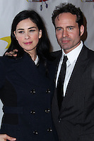 "WEST HOLLYWOOD, CA - NOVEMBER 13: Sarah Silverman, Jason Patric at the ""Stand Up For Gus"" Benefit held at Bootsy Bellows on November 13, 2013 in West Hollywood, California. (Photo by Xavier Collin/Celebrity Monitor)"