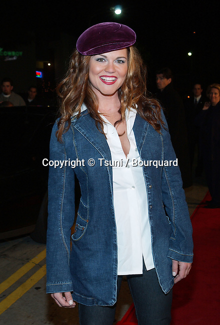 Delaina Mitchell arriving at the premiere of Kate & Leopold at the Mann Bruin Theatre in Westwood, Los Angeles. December 11, 2001.            -            MitchellDelaina10.jpg