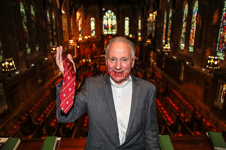 Rev Warner Wilder, Honors Tie. 25 October 2016. Photo: Simon Watts/www.bwmedia.co.nz for Kings College