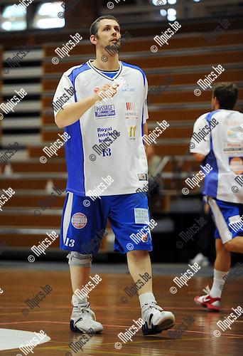 2011-08-13 / Basketbal / seizoen 2011-2012 / Kangoeroes Boom - Kabo / Brusselmans Jelle..Foto: Mpics