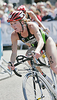 29 JUL 2007 - SALFORD, UK - Andrea Whitcombe - Salford ITU World Cup Triathlon. (PHOTO (C) NIGEL FARROW)