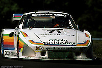 Bobby Rahal drives the Porsche 935 K3 009 00030 during the Six Hours of Watkins Glen on July 5, 1980, at Watkins Glen International near Watkins Glen, New York.