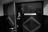 Warszawa 23 september - 24 october 2005 Poland<br /> The Fryderyk Chopin International Contest taking place every five years in Warsaw is the most prestigious musical event in the world. This year a record high number of contestants has applied - 257 musicians from 35 countries. <br /> ( &copy; Filip Cwik / Napo Images for Newsweek Polska )<br /> <br /> Warszawa 23 wrzesien - 24 pazdziernik 2005 Polska<br /> 15 Miedzynarodowy Konkurs Pianistyczny im. Fryderyka Chopina. Konkurs odbywa sie co piec lat i jest to najbardziej prestizowa impreza pianistyczna na swiecie. Nalezy do swiatowej elity wydarzen muzycznych. W tym roku na Konkurs zglosila sie rekordowa liczba uczestnikow - 257 muzykow z 35 krajow. <br /> nz Kozlowa Olga ( Rosja ) tuz przed wejsciem na sale przesluchan<br /> ( &copy; Filip Cwik / Napo Images dla Newsweek Polska )