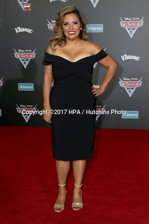 "LOS ANGELES - JUN 10:  Cristela Alonzo at the ""Cars 3"" Premiere at the Anaheim Convention Center on June 10, 2017 in Anaheim, CA"