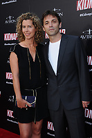 """31 July 2017 - Hollywood, California - Sarah Webster, Luis Prieto.  """"Kidnap"""" Los Angeles premiere held at Arclight Hollywood in Hollywood. Photo Credit: Birdie Thompson/AdMedia"""