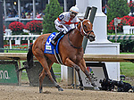May 4, 2019 : Mia Mischief, trained by Steve Asmussen, wins the Humana Distaff(G1) at Churchill Downs on May 4, 2019 in Louisville, KY. Jessica Morgan/ESW/CSM