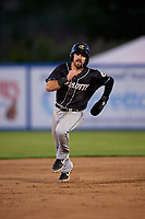 Charlotte Knights Danny Mendick (17) running the bases during an International League game against the Syracuse Mets on June 11, 2019 at NBT Bank Stadium in Syracuse, New York.  Syracuse defeated Charlotte 15-8.  (Mike Janes/Four Seam Images)