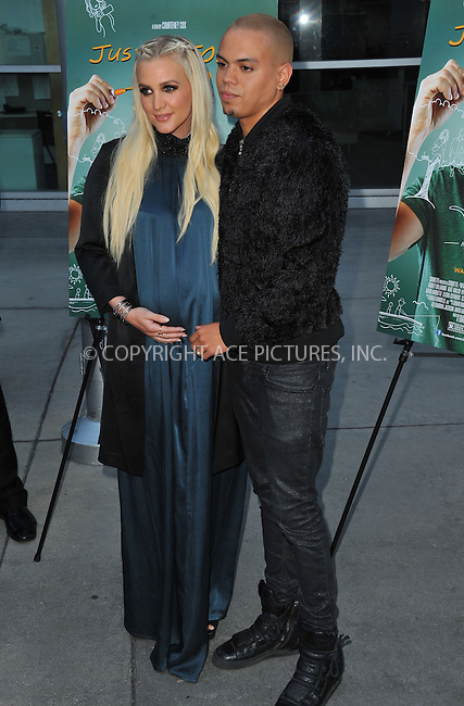 WWW.ACEPIXS.COM<br /> <br /> April 20 2015, LA<br /> <br /> Ashlee Simpson and Evan Ross arriving at the Los Angeles special screening of 'Just Before I Go' at the ArcLight Hollywood on April 20, 2015 in Hollywood, California.<br /> <br /> By Line: Peter West/ACE Pictures<br /> <br /> <br /> ACE Pictures, Inc.<br /> tel: 646 769 0430<br /> Email: info@acepixs.com<br /> www.acepixs.com
