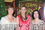 Eileen Kennedy. Angela O'Sullivan and Elizabeth McCarthy at the Christmas in Killarney fashion show in the Killarney Avenue Hotel Thursday night.