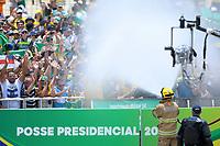 BRASÍLIA, DF, 01.01.2019 – POSSE-BOLSONARO – População acompanha a posse de Jair Bolsonaro como Presidente do Brasil no Palácio do Planalto em Brasília na tarde desta terça-feira, 01 (Foto: Ricardo Botelho/Brazil Photo Press)