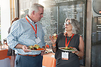 (Photo by Dennis Davis, Freelance)<br /> <br /> Occidental College alumni gathered for class reunions from June 23-25, 2017 as part of Alumni Reunion Weekend. Alums shared memories, honored the Seal Award winners and had fun dancing with Oswald!<br /> <br /> (Photo by Dennis Davis, Freelance)