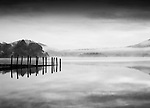 Hawes End Jetty, Derwent Water, The Lake District. Cumbria. UK