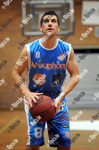 2012-09-04 / Basketbal / seizoen 2012-2013 /  Kangoeroes Boom Kabo / Witse Van Schil..Foto: Mpics.be