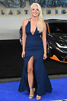 Chloe Paige at the global premiere for &quot;Transformers: The Last Knight&quot; at Leicester Square Gardens, London, UK. <br /> 18 June  2017<br /> Picture: Steve Vas/Featureflash/SilverHub 0208 004 5359 sales@silverhubmedia.com